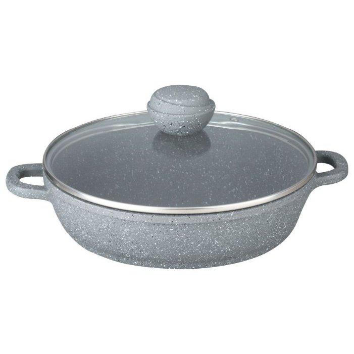 Сковорода Bekker 32cm Silver Marble BK-3803