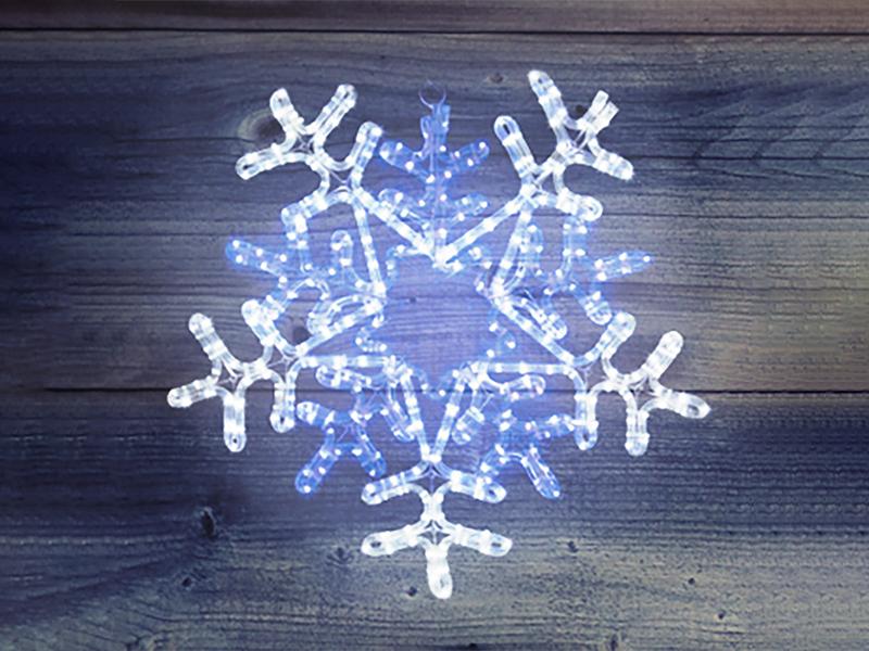 Светящееся украшение Елочная игрушка Neon-Night Снежинка 501-531