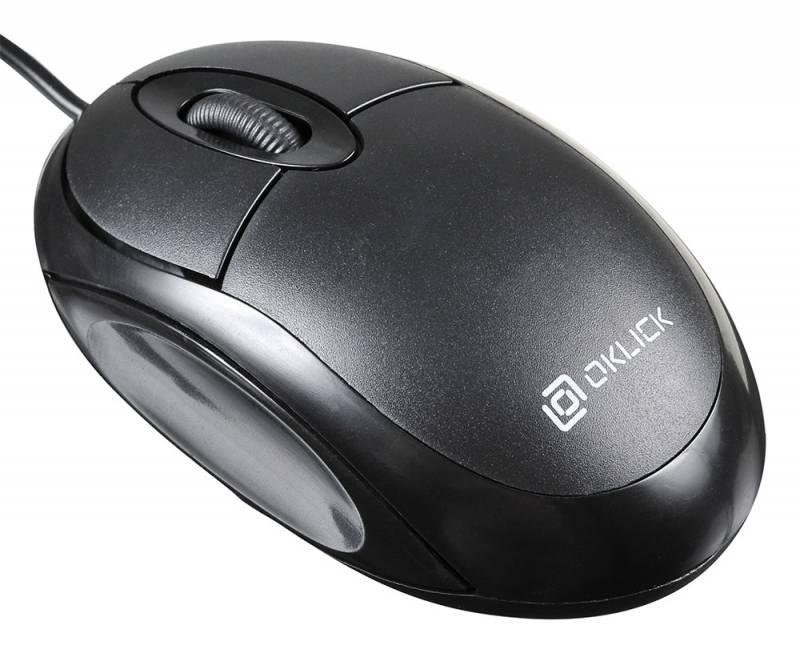 Фото - Мышь Oklick 105S Black паровая сауна gezatone 105s