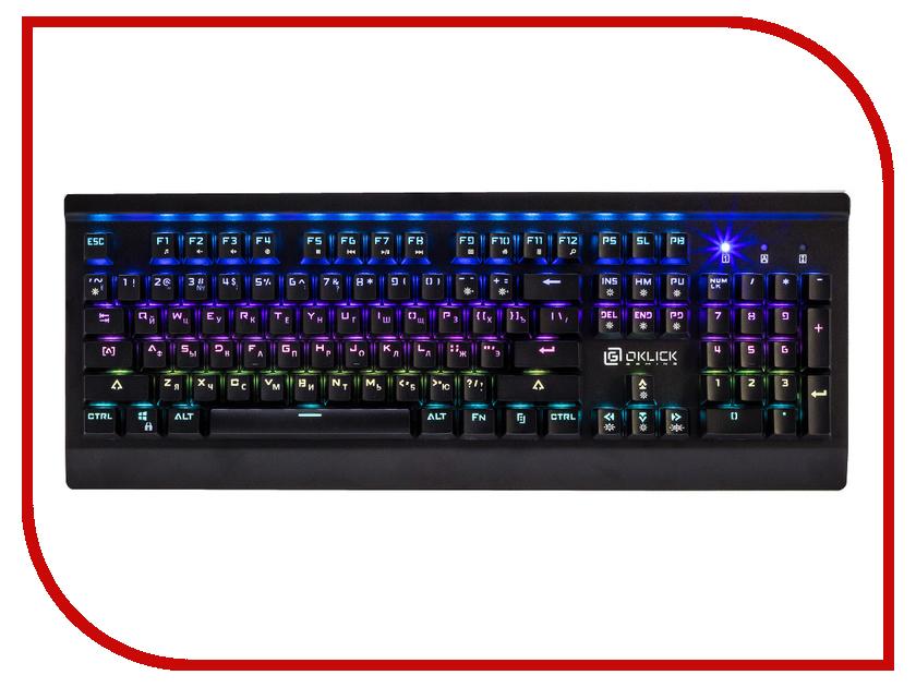 Клавиатура Oklick 950G Iron Edge Black USB oklick 140m black клавиатура