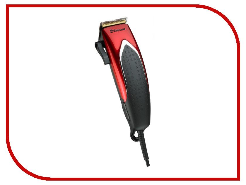 Машинка для стрижки волос Sakura Premium SA-5110R утюг sakura sa 3045sbl