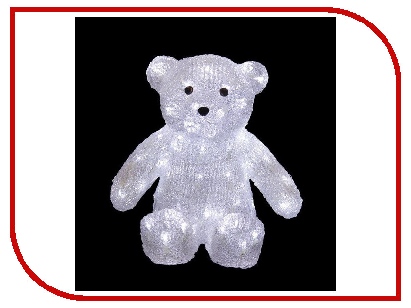 Новогодний сувенир Фигурка медведь NEON-NIGHT