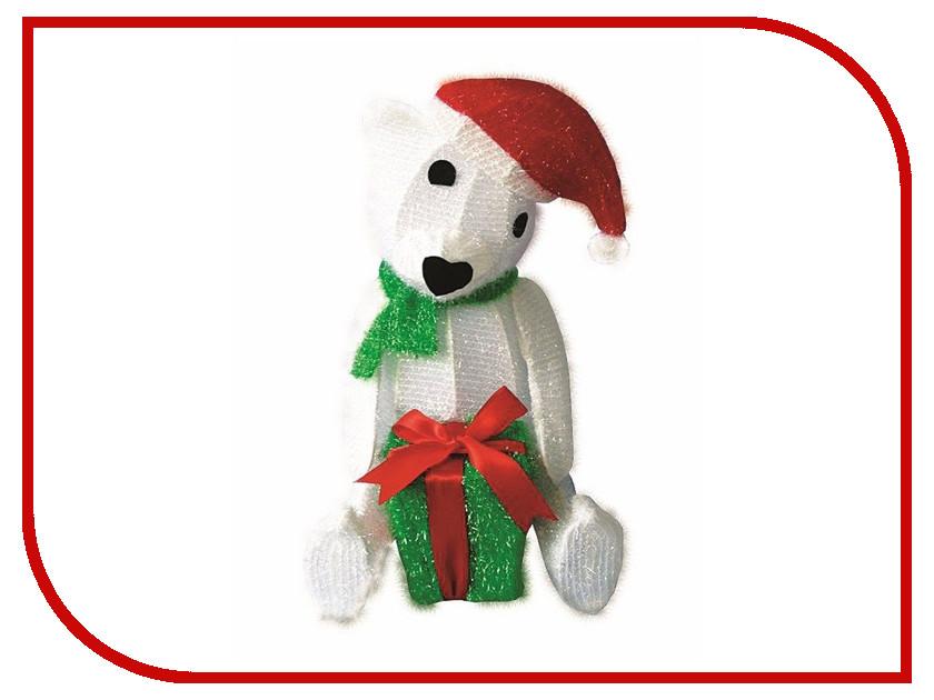 Новогодний сувенир Neon-Night Медвежонок с подарком 514-268