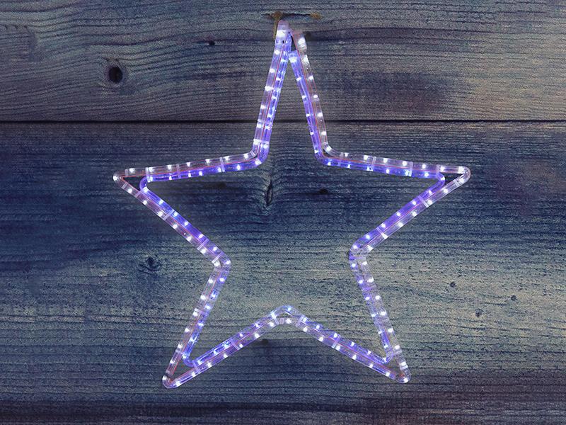 Светящееся украшение Neon-Night Звезда White-Blue 501-514
