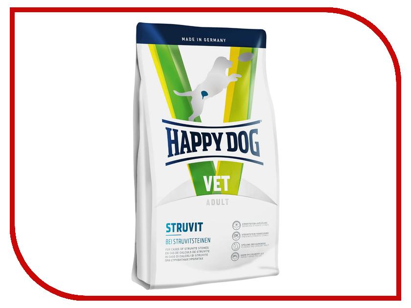 Корм Happy Dog VET Diet Struvit Курица/Ягненок/Морепродукты 12.5kg для собак корм для собак happy dog новая зеландия для мелких пород ягненок рис сух 300г