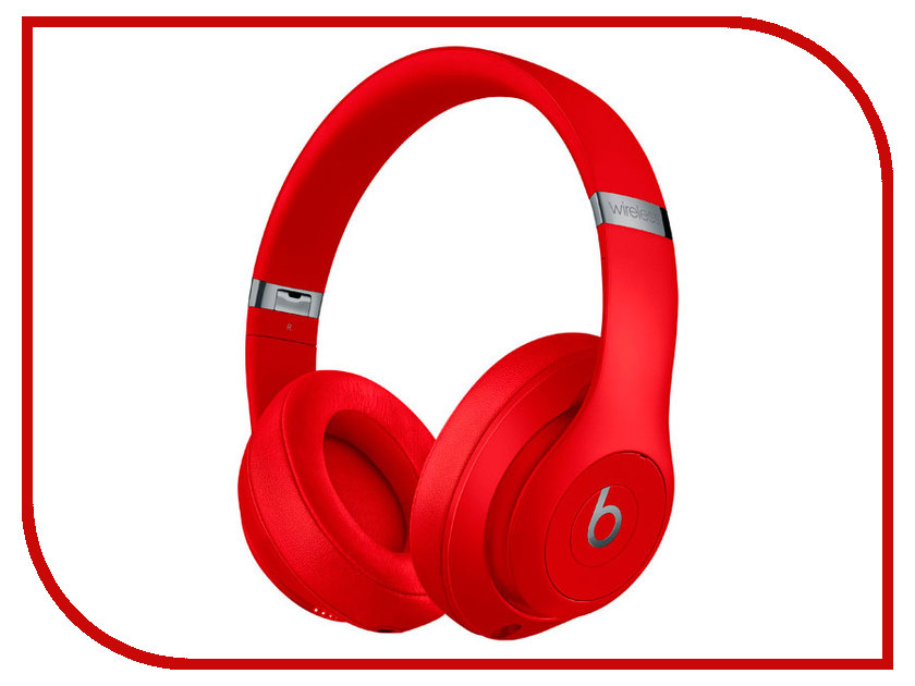 Beats Studio 3 Wireless Red MQD02ZE/A наушники beats powerbeats3 wireless red mnly2ze a