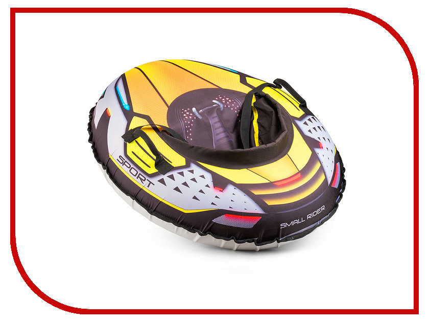 Тюбинг Small Rider Asteroid Sport Lime 1373673 тюбинг small rider snow cars 3 bm blue 1387733