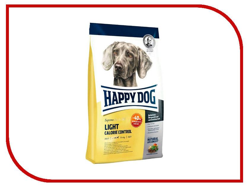 Корм Happy Dog Light Calorie Control Курица/Лосось/Ягненок 12.5kg для взрослых собак корм для собак happy dog ягненок с рисом нежный паштет конс 400г