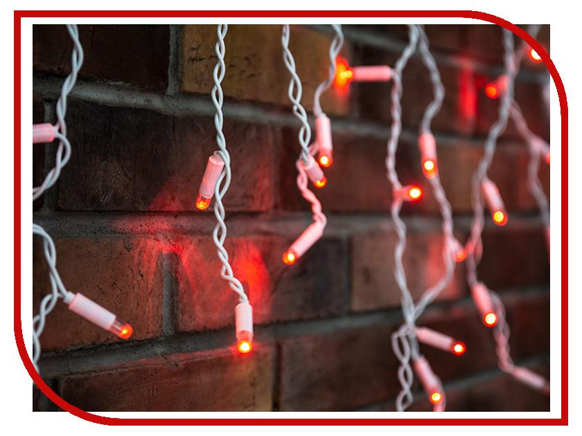 Гирлянда Neon-Night Айсикл 4.8x0.6m 176 LED Red 255-162 portable egg shape usb nightlight soft night lamp led night light high quality room decoration bedside lamp