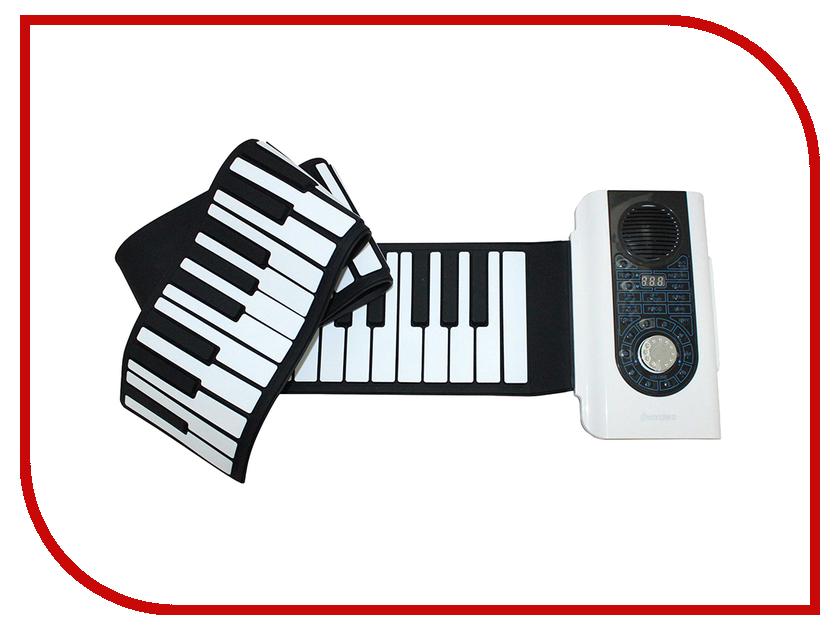 Детский музыкальный инструмент Гибкое пианино SpeedRoll S2088 Black