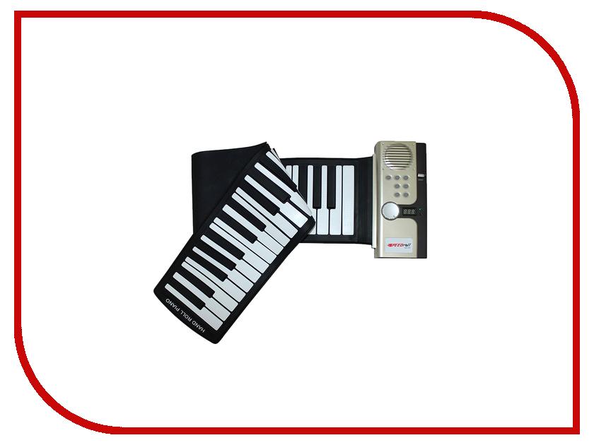 Детский музыкальный инструмент Гибкое пианино SpeedRoll S2027 Black