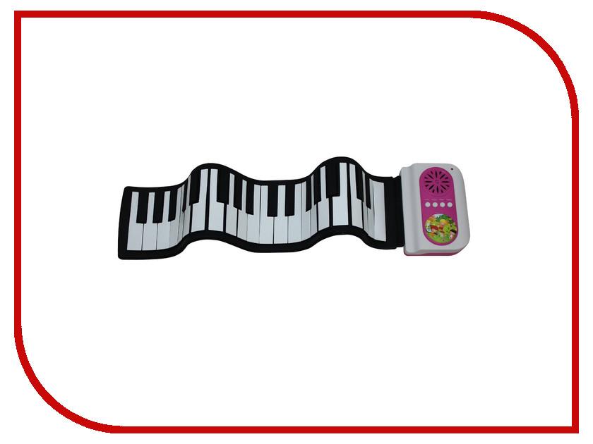 Детский музыкальный инструмент Гибкое пианино SpeedRoll S2037 Pink