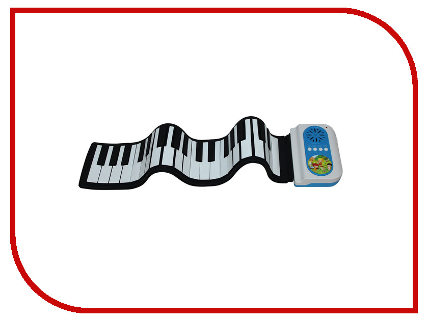 Детский музыкальный инструмент Гибкое пианино SpeedRoll S2037 Blue