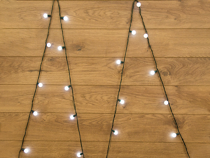 Гирлянда Neon-Night Мультишарики 18mm 5m 25 LED White 303-555