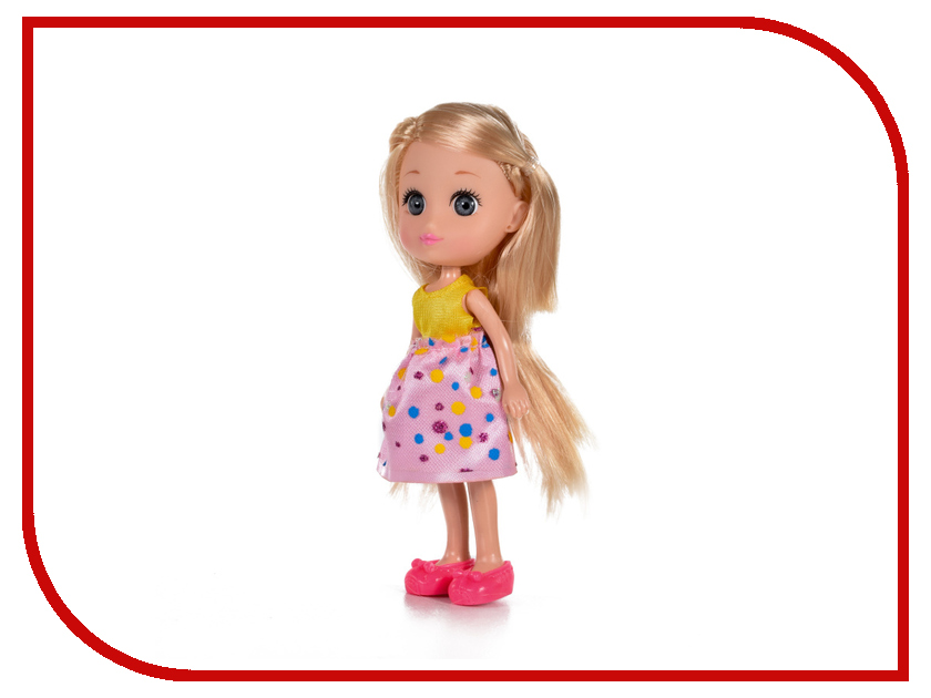 Кукла Yako Кукла Катенька M6608 куклы и одежда для кукол yako кукла катенька 16 5 см m6618