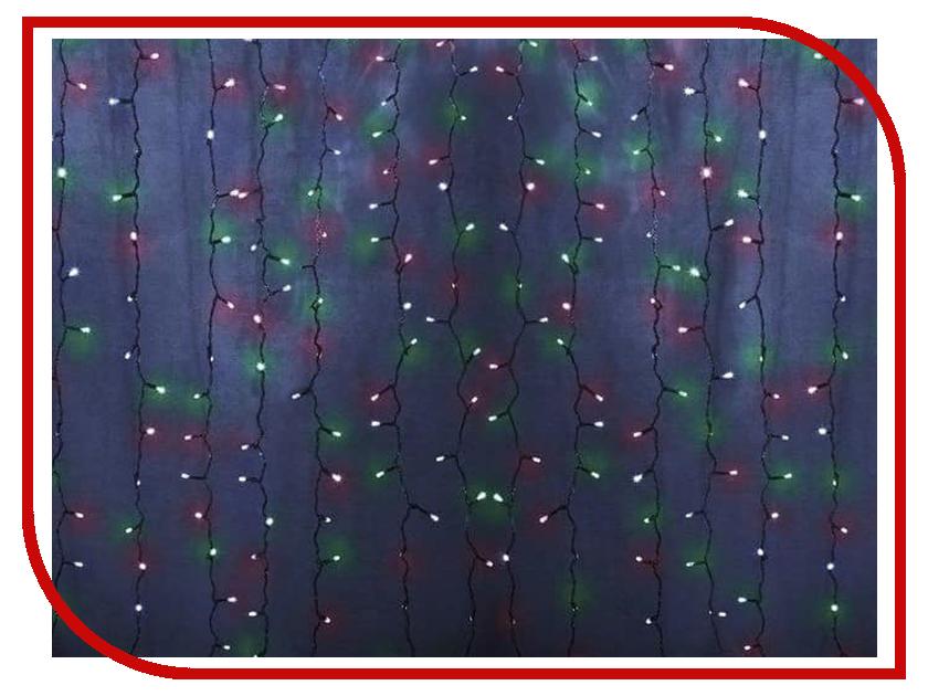 Гирлянда Neon-Night Светодиодный Дождь 2.5x2m 300 LED Multicolor 235-059 гирлянда luazon дождь 2m 1 5m multicolor 671638
