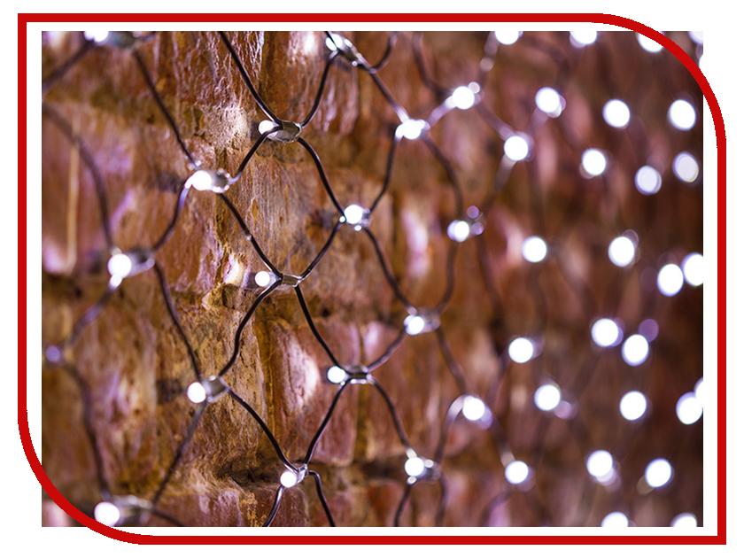 Гирлянда Neon-Night Сеть 2x0.7m 176 LED White 215-011 гирлянда neon night сеть 1x1 5m 160 led warm white 215 116
