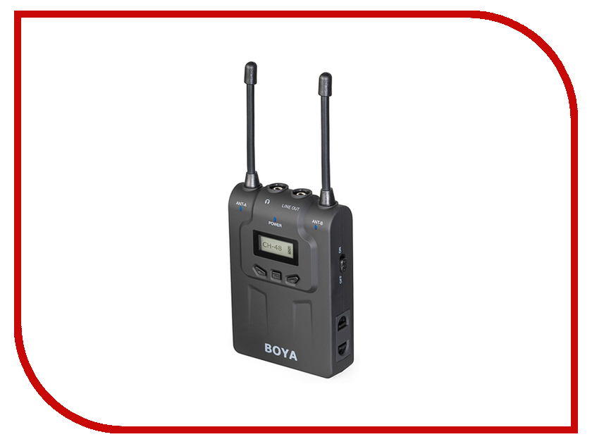 Микрофон BOYA BY-WM8R boya by wm5 by wm6 camera wireless lavalier microphone recorder system for canon 6d 600d 5d2 5d3 nikon d800 sony dv camcorder