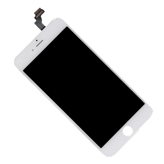 Дисплей RocknParts Zip для iPhone 6 Plus White 373565 автосканер rocknparts zip vag com 12 12 375433