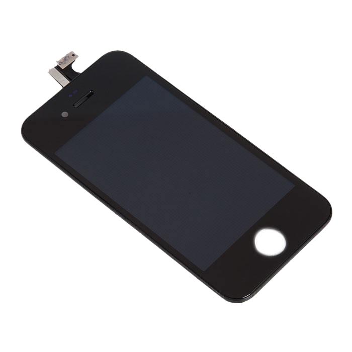 Дисплей RocknParts Zip для iPhone 4S Black 396135