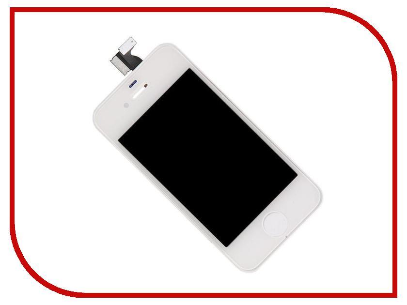 Дисплей RocknParts Zip для iPhone 4 White 396137