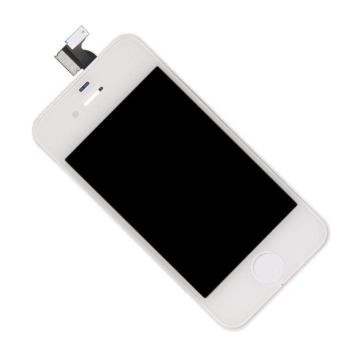 Дисплей RocknParts Zip для iPhone 4 White 396137 автосканер rocknparts zip vag com 12 12 375433