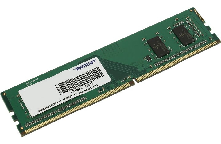 Модуль памяти Patriot Memory DDR4 DIMM 2133MHz PC4-17000 CL15 - 8Gb PSD48G213382