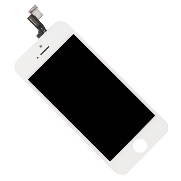 Дисплей RocknParts Zip для iPhone 5S White 342081 дисплей monitor lcd for iphone 5s white