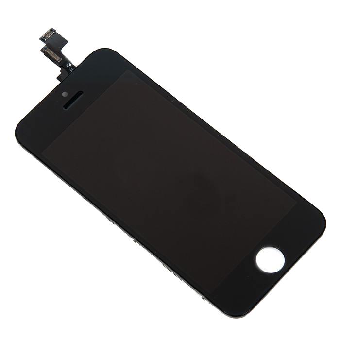 Дисплей RocknParts Zip для iPhone 5S Black 342079