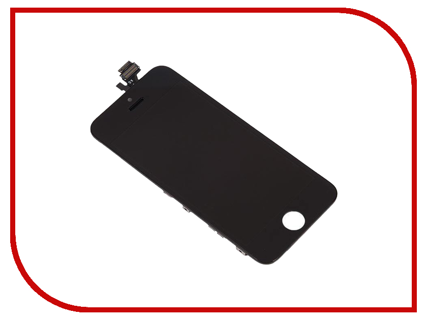 Дисплей RocknParts Zip для iPhone 5 Black 398428 iphone 5