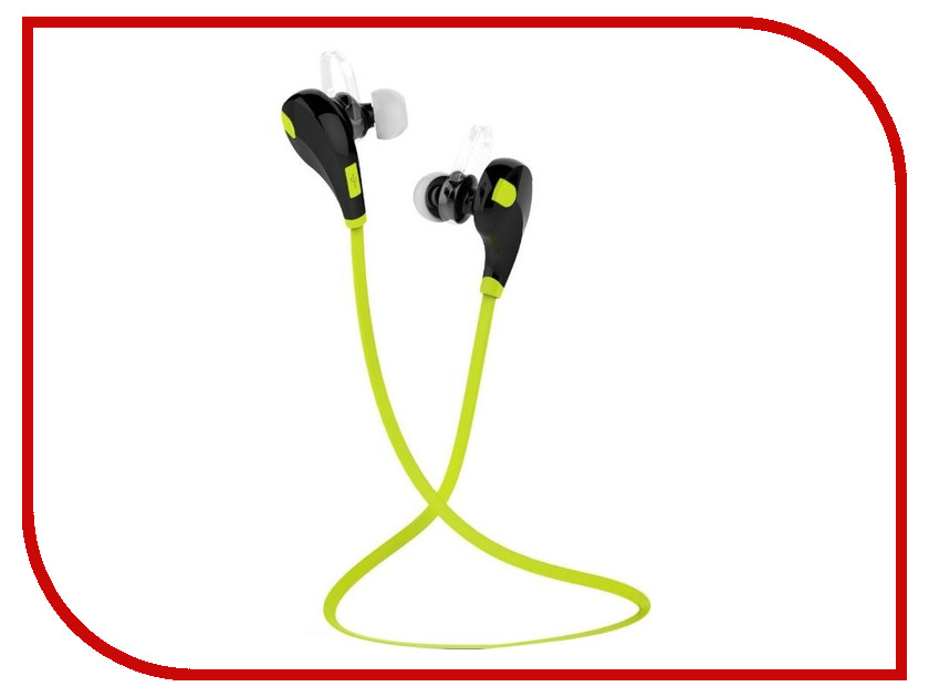 QCY QY7 Black-Green qcy qy19 bluetooth 4 1 sport earphones with mic black