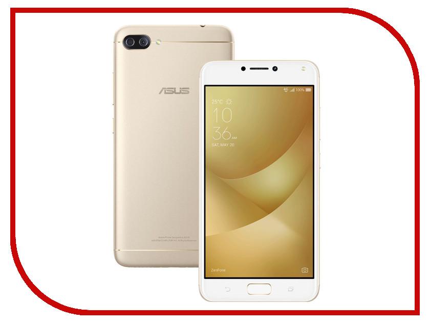 Сотовый телефон ASUS ZenFone 4 Max ZC554KL 32Gb Gold сотовый телефон asus zenfone 3 max zc553kl 32gb silver