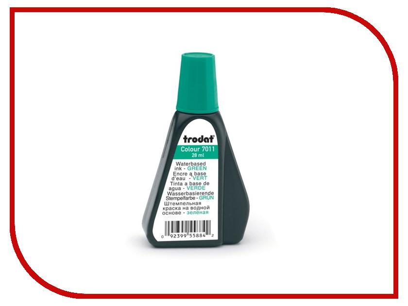 где купить Краска штемпельная Trodat 7011 28ml Green 225211 по лучшей цене