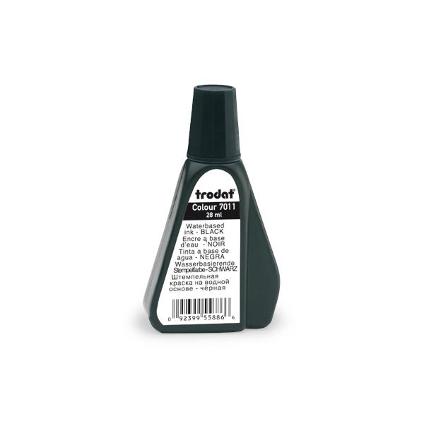 Краска штемпельная Trodat 7011 28ml Black цена
