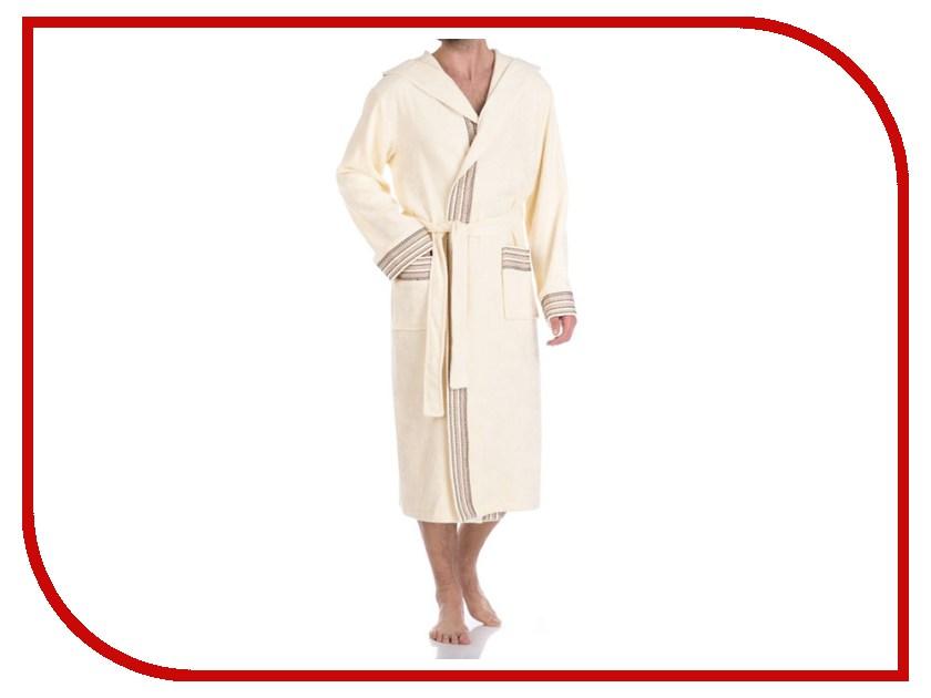 Халат Peche Monnaie №931 XXL Cream платье домашнее peche monnaie цвет салатовый 219 размер xxl 52