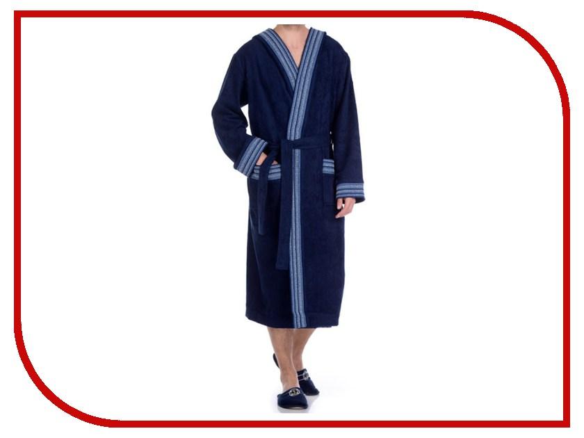 Халат Peche Monnaie №931 XXL Blue платье домашнее peche monnaie цвет салатовый 219 размер xxl 52