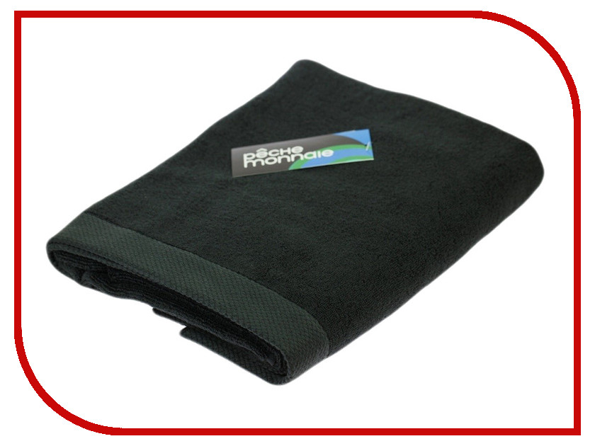 Полотенце Peche Monnaie Olympus 50x100cm Black