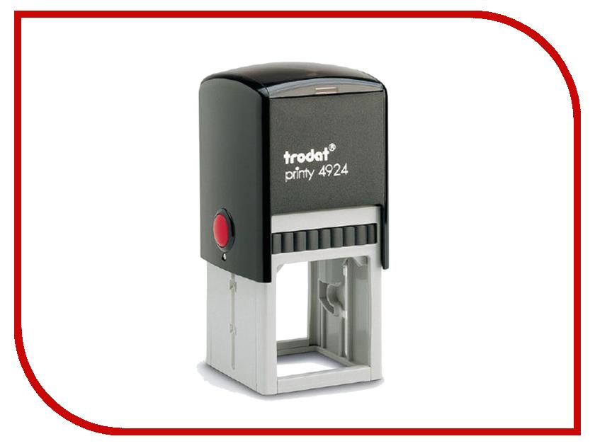 Оснастка для печати и штампа Trodat 4924 235559 colop оснастка для штампа цвет черный 23 х 59 мм