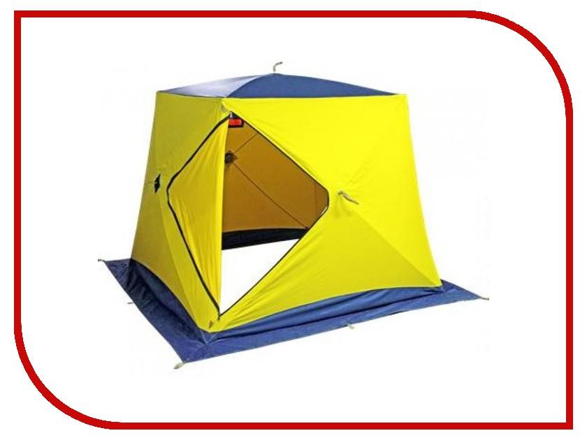 Палатка Сахалин Нерпа 185x185x170cm Yellow-Blue 0066473
