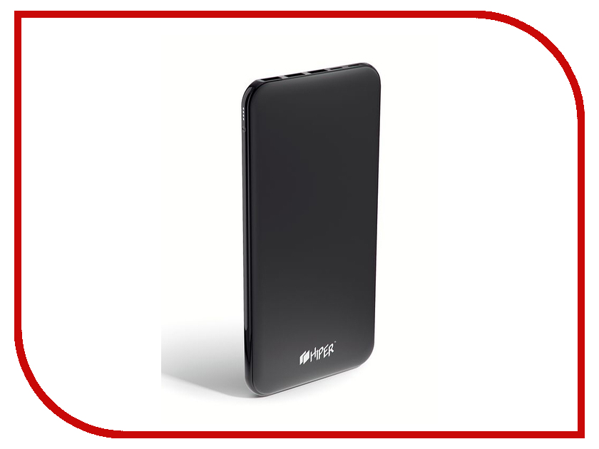 Аккумулятор Hiper Power Bank PSX20000 20000mAh Black аккумулятор hiper power bank ep6600 lady cat 6600mah