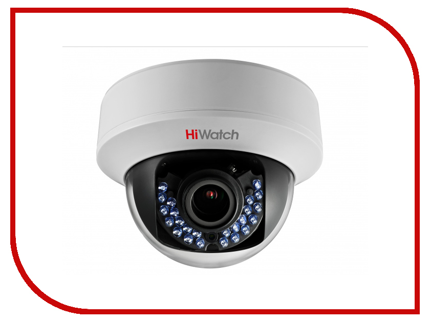 Аналоговая камера HikVision HiWatch DS-T107 2.8-12mm ip камера hikvision ds 2cd2742fwd izs 2 8 12mm