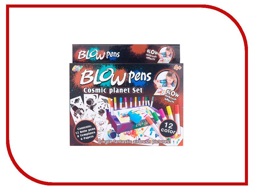 Набор Фломастеры с распылителем Blow Pens Космос BP003
