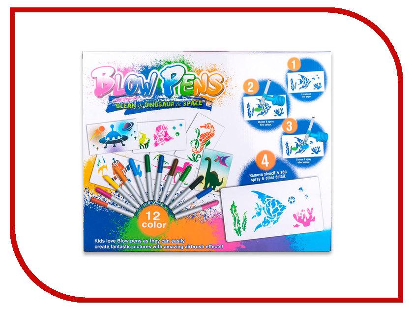 Фломастеры с распылителем Blow Pens 3 в 1 BP001