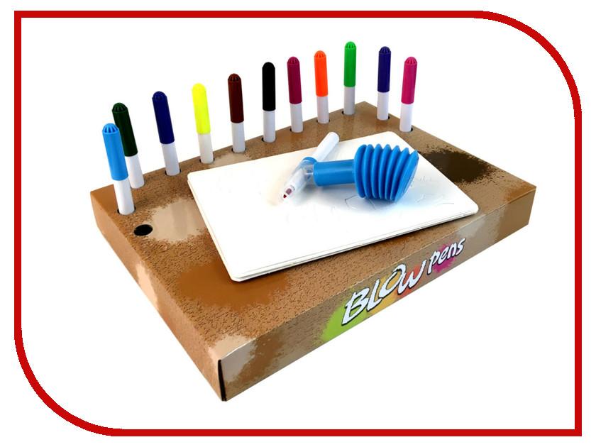 Набор Фломастеры с распылителем Blow Pens Динозавры BP002