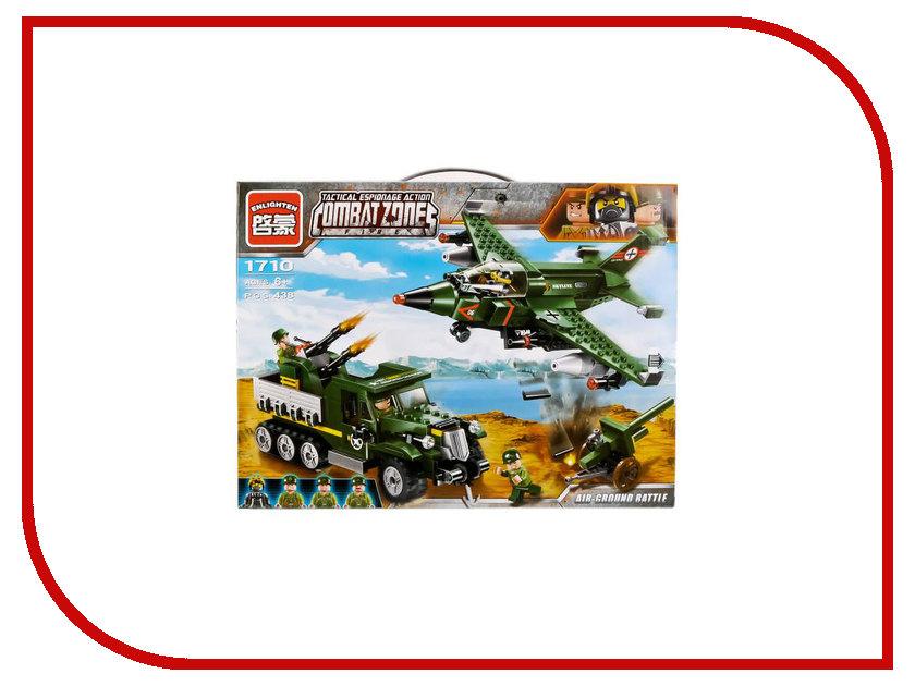 Конструктор Enlighten Brick CombatZones 1710 Авианалет 438 дет. 242538 конструктор enlighten brick город 1120 радостное путешествие г72908