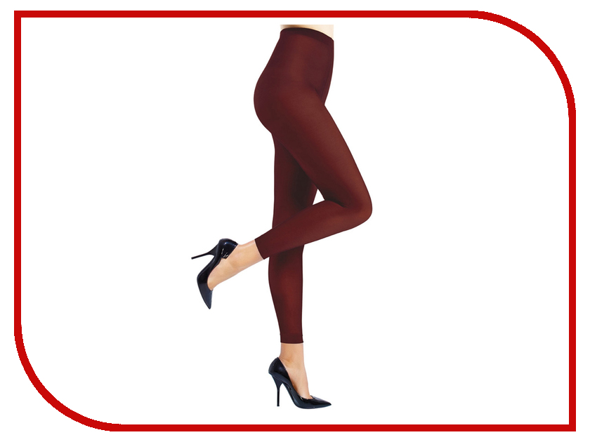 Антицеллюлитные леггинсы Slim-n-Color 4307A размер S (40-44) Burgundy 4307А-730-1