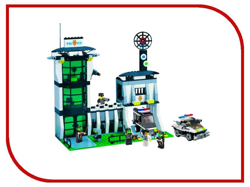 Конструктор Enlighten Brick Полиция 129 Полицейский участок 589 дет. 116240 fisher price конструктор полицейский участок