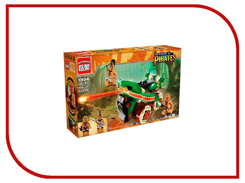Конструктор Enlighten Brick Legendary Pirates 1304 146 дет. 202933 конструктор enlighten brick город 1129 свадебная церемония 632 дет 202926