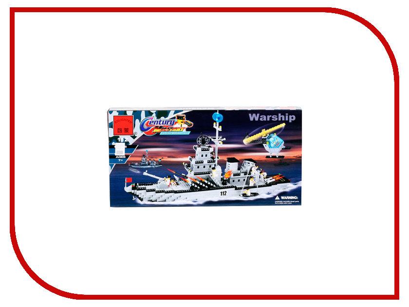 Конструктор Enlighten Brick Century Military 112 Военный линкор 970 дет. 116266 121043 линкор гото предестинация 60x48x13см 1104932