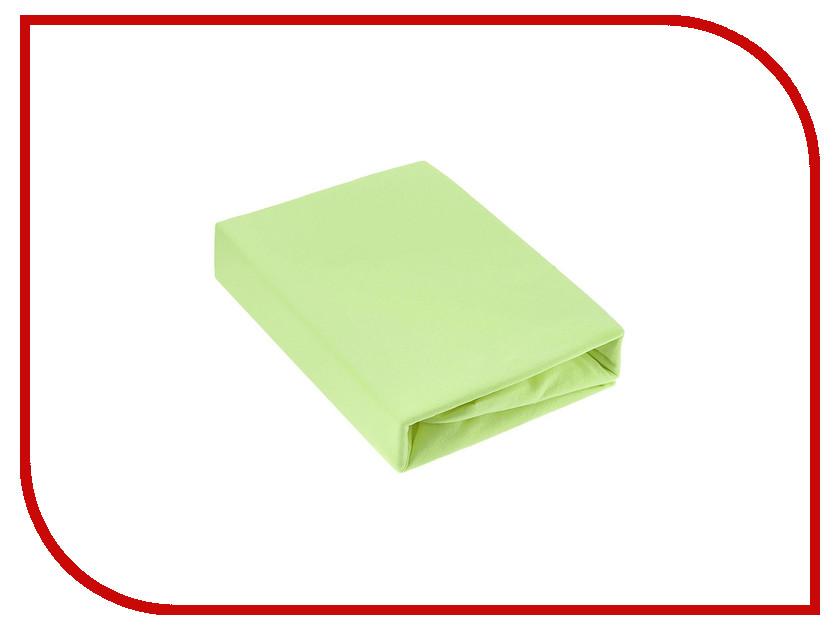 Простынь Эго Трикотаж на резинке 160x200 Lime Green Э-ПР-02-31